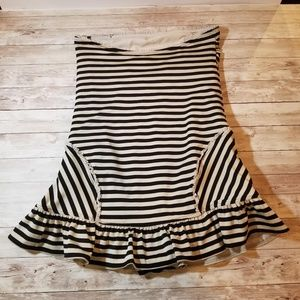 Juicy Couture Large Striped Sleeveless Top EUC